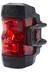 Busch + Müller IXXI Akku-Rücklicht LED silber/rot